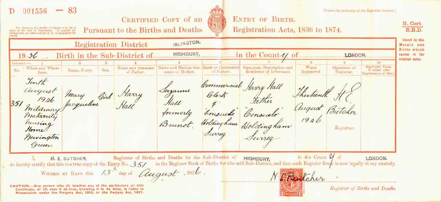 Census and bmd birth certificate aiddatafo Image collections